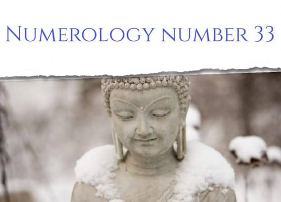 Numerology number 33
