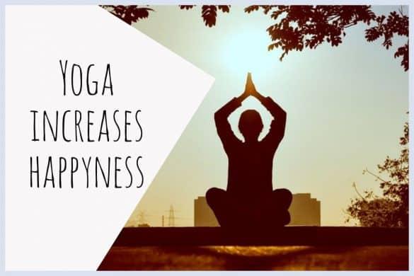 yoga increases happyness