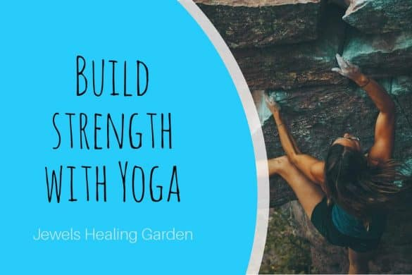 build muscles and strength with yoga