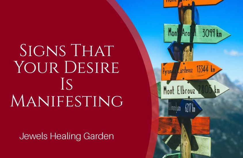 Signs That Your Desire Is Manifesting