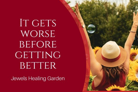 It gets worse before getting better