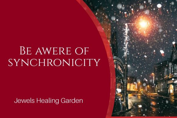 Be awere of synchronicity