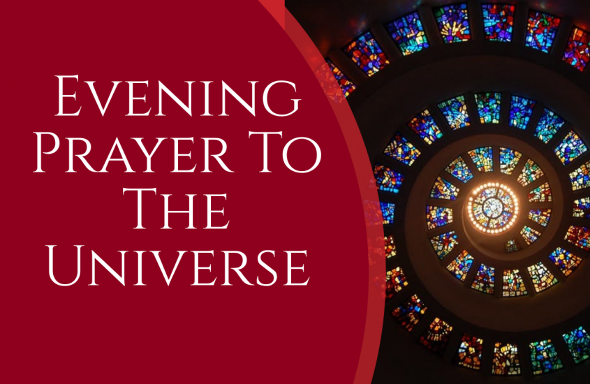Evening Prayer To The Universe