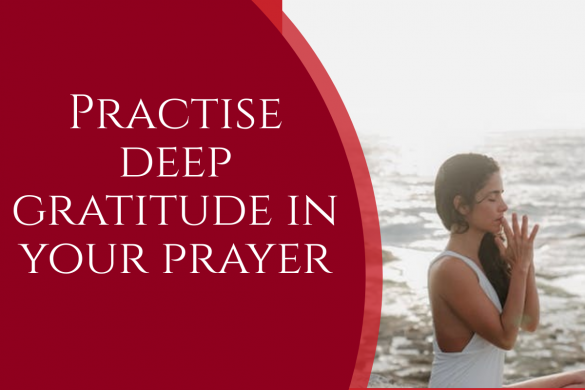 deep gratitude prayer