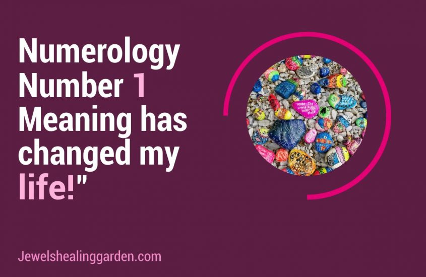 numerology number 1 meaning