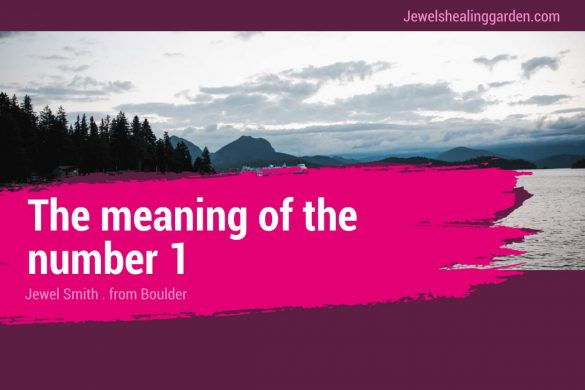 The meaning of the number 1