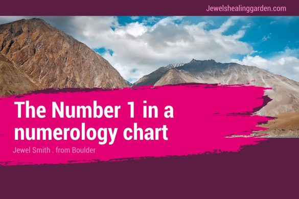 The Number 1 in a numerology chart