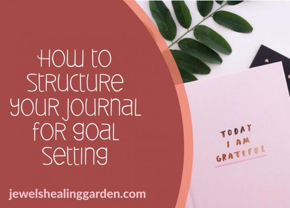 How to structure your journal for goal setting