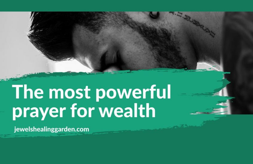 the most powerful prayer for wealth