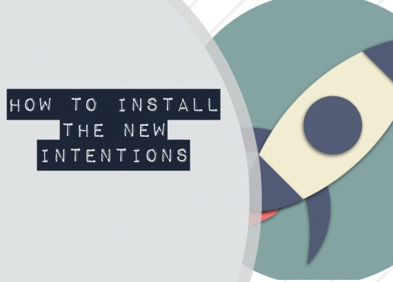 How to install the new intentions