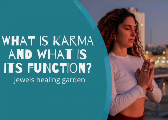 What is karma and what is its function?