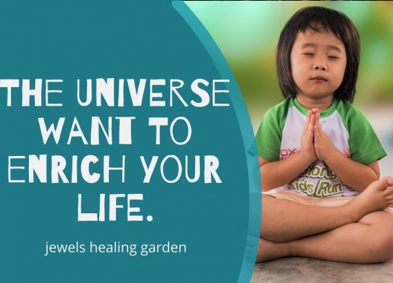It's to enrich your life.
