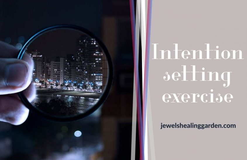intention setting exercise